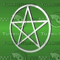 3d model magick pentacle