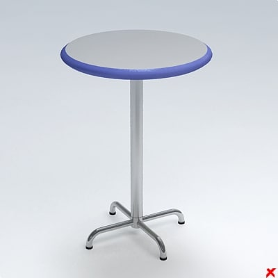 free dxf model table occasional