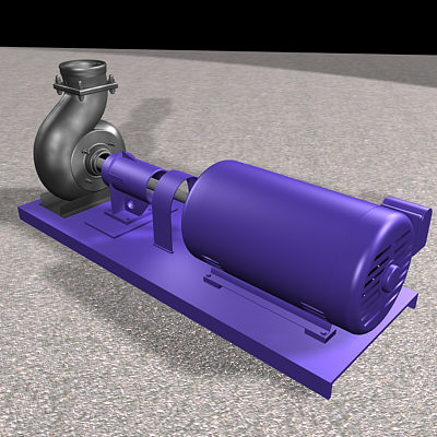 airconditionpumpmechanicindustrial 3d model