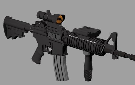 5 rifle 3d 3ds