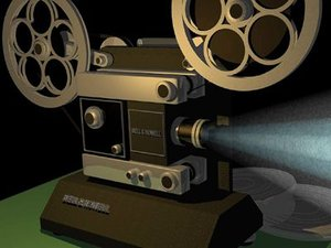 film projector 3d 3ds