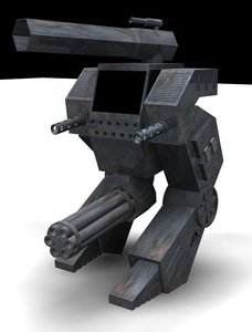 battle mech 3d 3ds