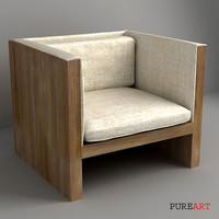 3ds max chair furniture