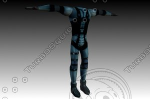 free max model solid snakes suit