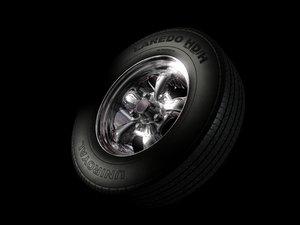 free lwo mode uniroyal tire wheel
