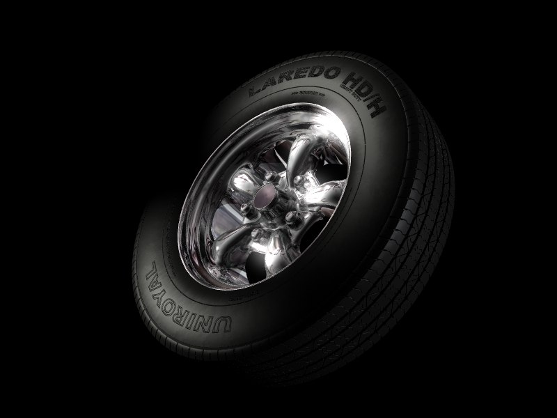 free lwo mode uniroyal tire wheel
