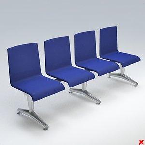 Airport chair004.ZIP