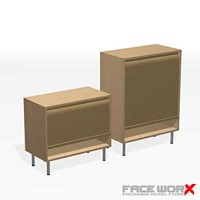 3dsmax cabinet office