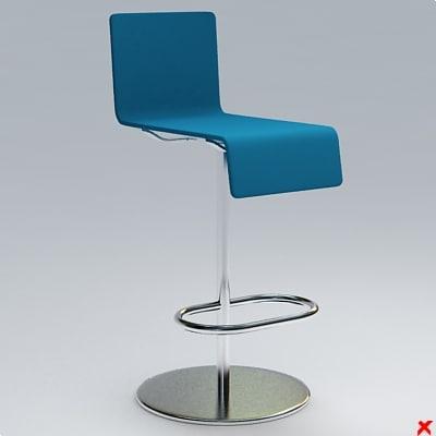 bar stool 3ds