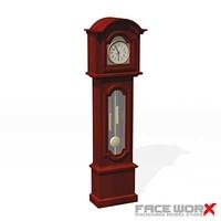 Clock grandfather001_max.ZIP