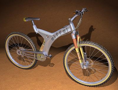 alias studiotools mountain bike 3d model