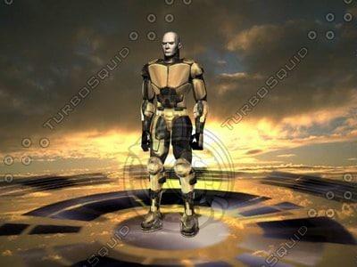 human trooper soldier max