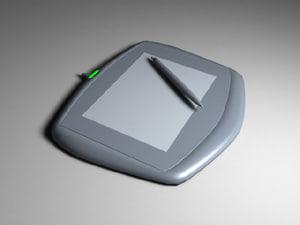 pressure graphics tablet 3d 3ds