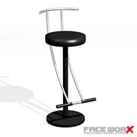 Stool bar014_max.ZIP