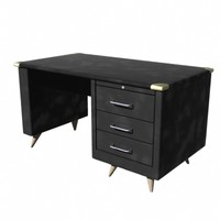 office desk 3 3d dxf