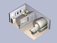 mri room 3d model