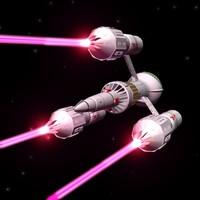 liberator blakes 7 3d model