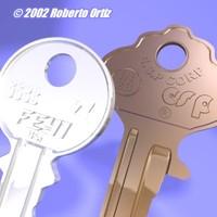 3d key led
