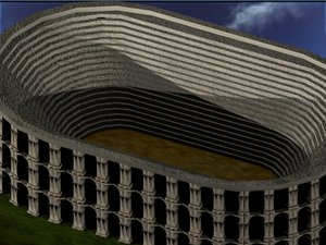 free max model colleseum arena