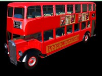 lwo double decker bus