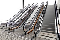 fully escalator 3d model