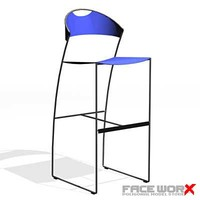 Stool bar024_max.ZIP
