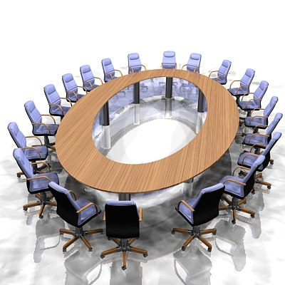 3ds large meeting table office furniture