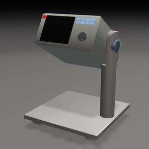 3d oscilloscope instrument convenience model