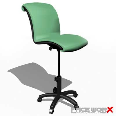 3d model chair doctor s