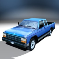 3ds pickup truck