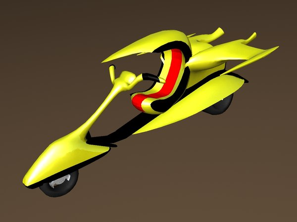 3d model of freestyle bike