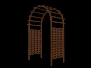 3ds arbor arch
