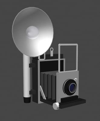 ww2 camera poser 3d pz3