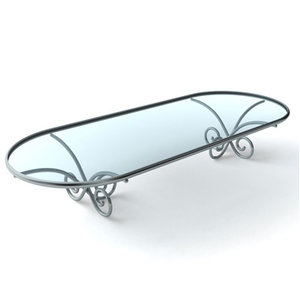 3ds max glass coffee table