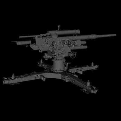 3d 3ds gun german wwii