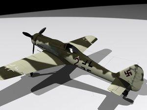 3d model dora-9 fw190