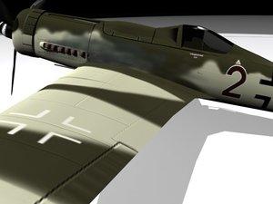 3d dora-9 fw190 model