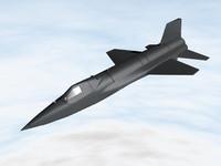 3d x-15 aircraft
