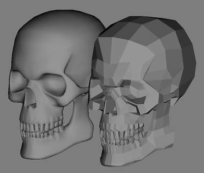 skull jaw teeth 3d model