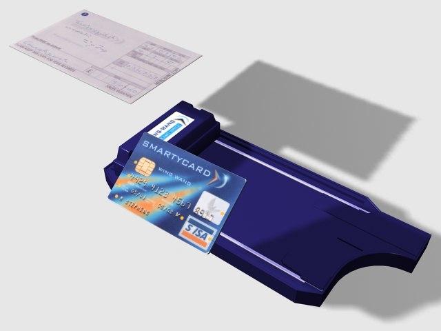 zap credit 3d model