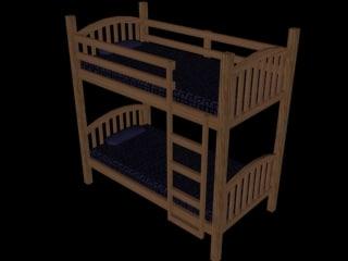 3d 3ds bed