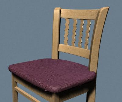 3dsmax furniture chair
