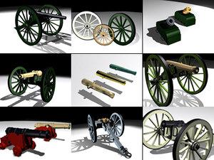 cannon morter war max