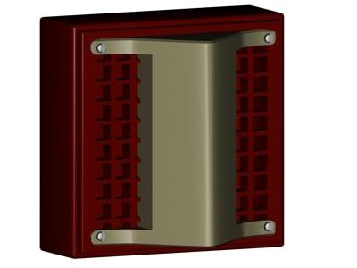 3d model strobe light