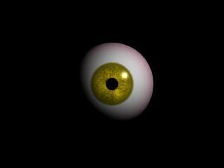 maya yellow eyeball