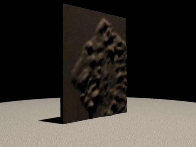 museum artifact relief 3d 3ds