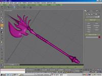 free axe weapon 3d model