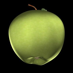 3ds max apple red green