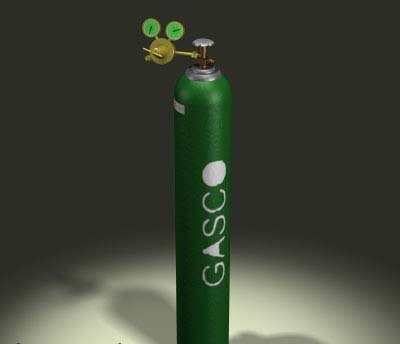 oxygen tank welding cob