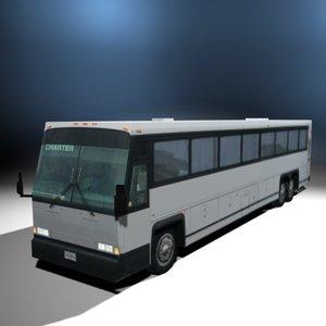 3d model charter bus